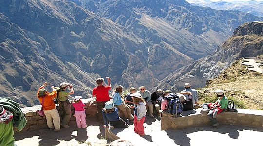 Waiting For Condors In The Colca Canyon
