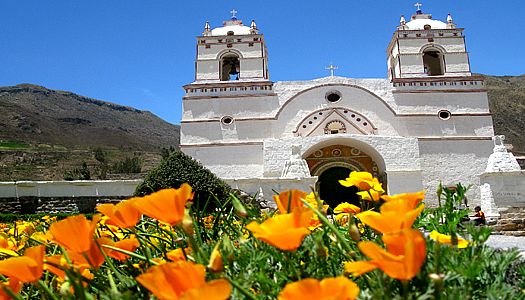 Church In The Colca Canyon