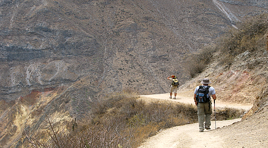 Hiking In The Colca Canyon - Colca Valley Trek - Colca Hiking Trips