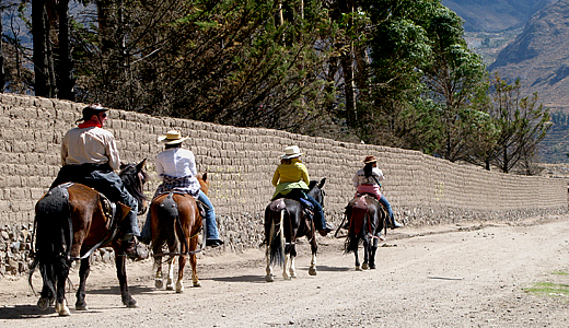 Riding In The Colca Valley, Horse Adventure Tours Colca Canyon