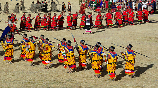 The Sun Festival In Cusco Peru